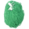 Seedbead Opaque Light Green 8/0 Strung